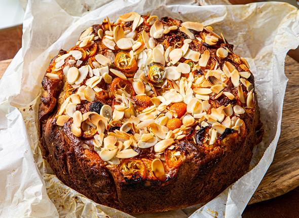 עוגת פירות יבשים של לימור לניאדו תירוש