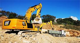הכנת השטח בו תוקם תחנת קריית הממשלה בנוף הגליל, באדיבות: חברת חוצה ישראל