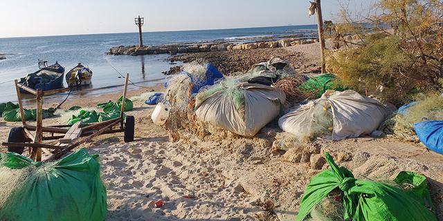 """חוף הים של ג'סר א־זרקא. """"זה אחד המכרזים שבהם טבלת האקסל לא קשורה למציאות"""", צילום: אמיתי גזית"""