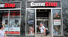 חנות משחקי וידאו גיים סטופ גיימסטופ GameStop ניו יורק, צילום: שאטרסטוק