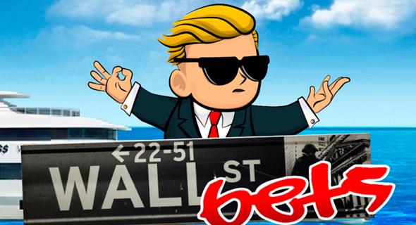 לוגו פורום wallstreetbets ברדיט