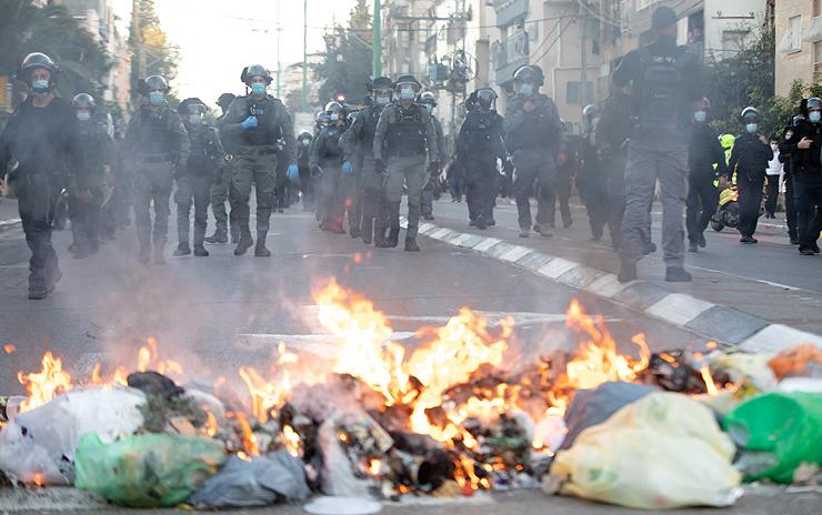 מהומות בני ברק השבוע