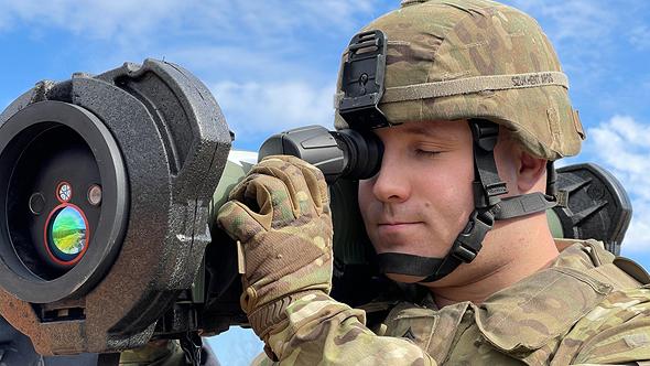 """ירי טיל ספייק של רפאל בארה""""ב , צילום: דוברות רפאל"""