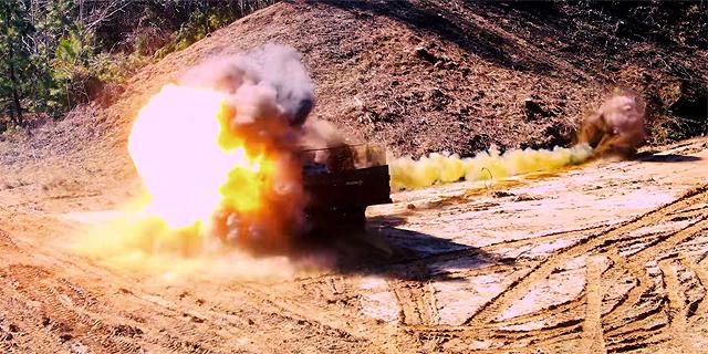 """פגיעה ישירה: צבא ארה""""ב בחן את טיל הספייק ומערכת """"הדק חכם"""" של רפאל"""