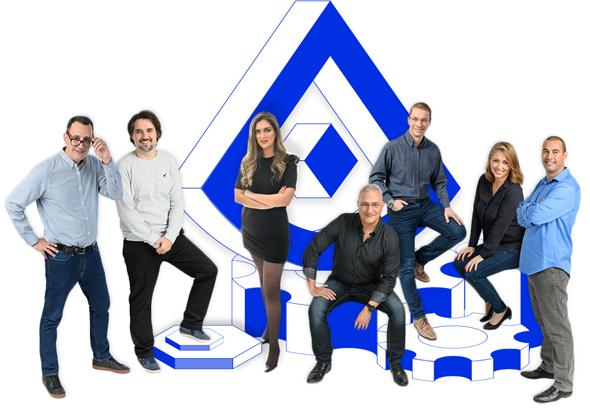Alcide's team. Photo: Alcide.IO