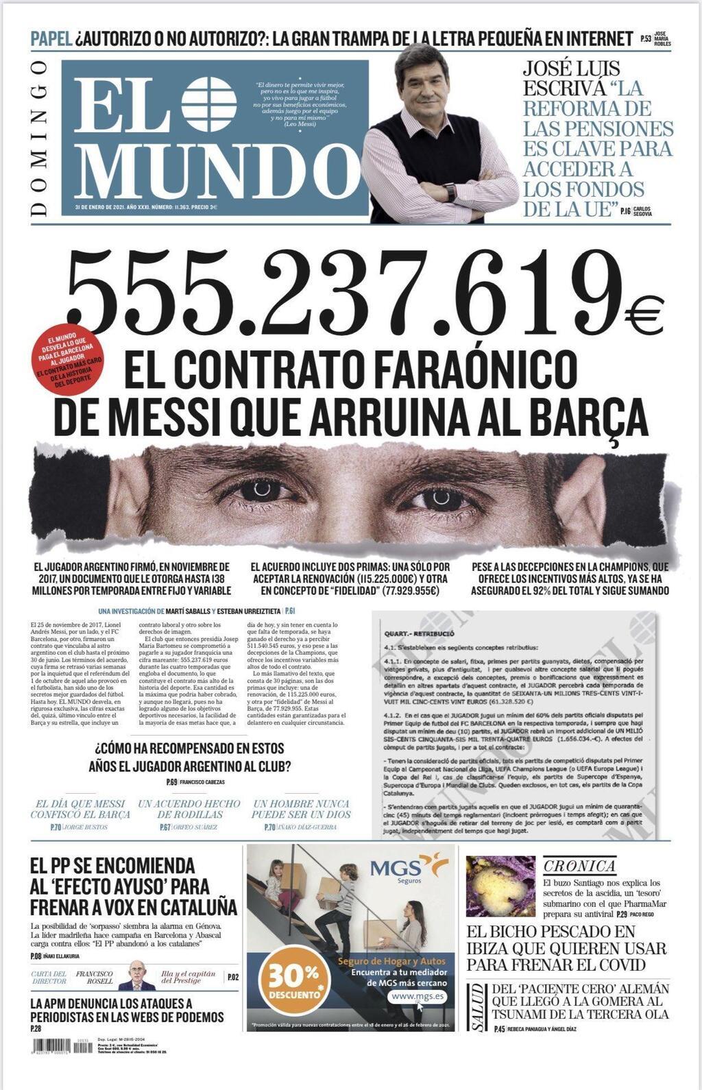 החשיפה בספרד