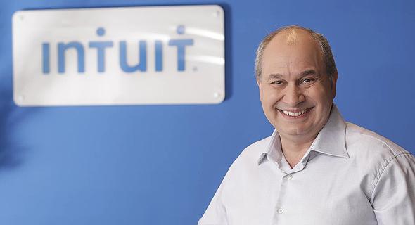 Gene Golovinsky, General Manager of Intuit Israel and VP Security R&D. Photo: Eyal Marilus