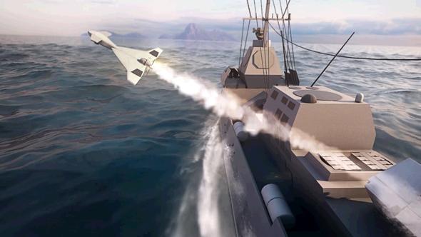 הארופ ימי, צילום: התעשייה האווירית
