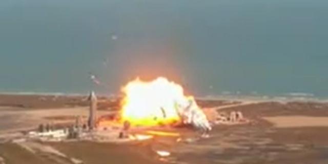 בפעם השנייה: ספינת החלל של SpaceX התפוצצה בניסוי