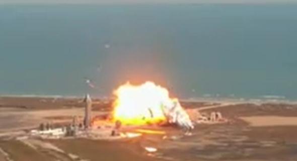 הפיצוץ, צילום: SpaceX