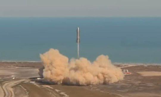 השיגור, צילום: SpaceX