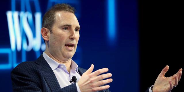 """מנכ""""ל אמזון החדש יקבל מניות בשווי 214 מיליון דולר"""