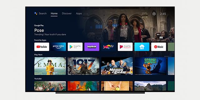 אנדרואיד TV מקבלת מתיחת פנים בעדכון גרסה