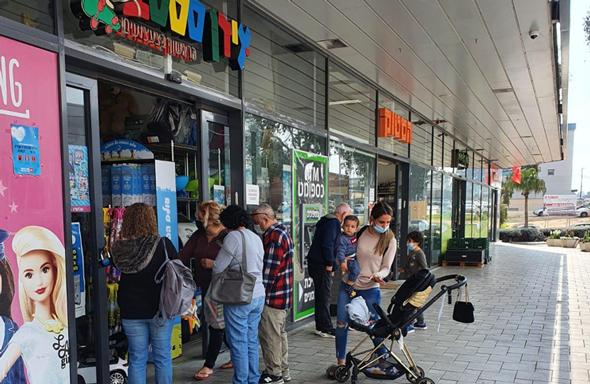 מרכז ביג קריות פתוח, הבוקר, צילום: ביג מרכזי קניות
