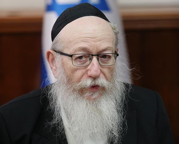 שר השיכון יעקב ליצמן