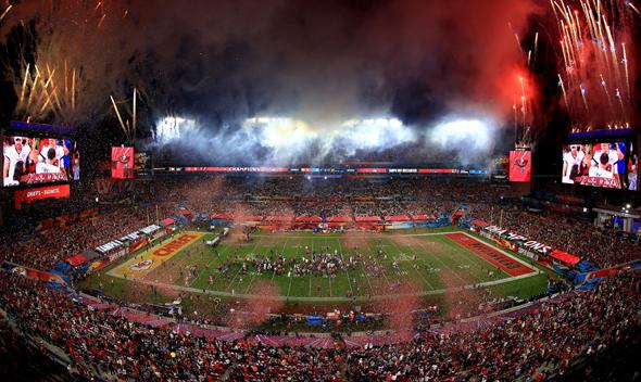 האצטדיון. סופרבול מלנכולי יחסית, צילום: גטי