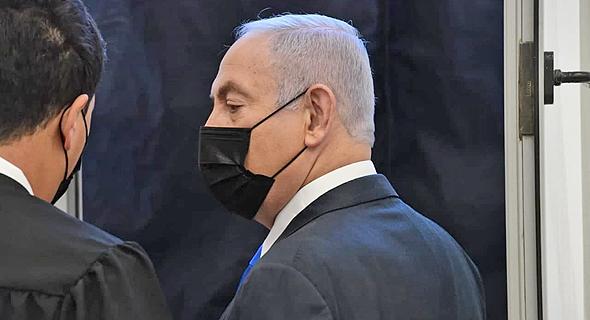 """נתניהו בביהמ""""ש, צילום: ראובן קסטרו"""