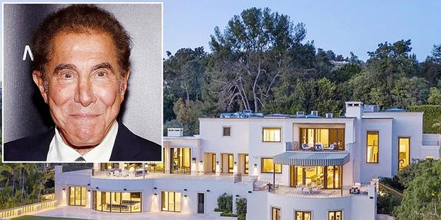 איל ההימורים סטיב וויין מוכר אחוזה בבוורלי הילס ב-110 מיליון דולר