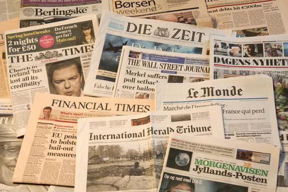 עיתונות באיחוד האירופי