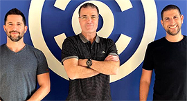 Carbyne's Alex Dizengof, Erez Tzur, and Amir Elichai: Photo: Carbyne