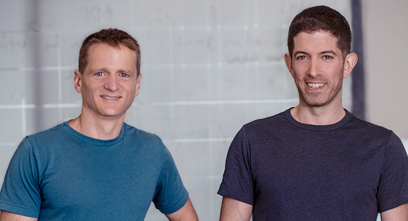 SecuriThings co-founders Roy Dagan (right) and Raanan Lidji. Photo: Orly Eyal