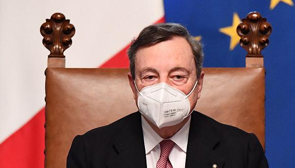 מריו דראגי ראש ממשלת איטליה החדש , צילום: אי פי איי