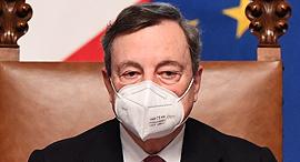 מריו דראגי ראש ממשלת איטליה , צילום: אי פי איי