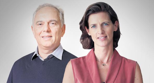 """מימין: מנכ""""לית דלתא ישראל ענת בוגנר ובעל השליטה בדלתא גליל אייזיק דבח"""