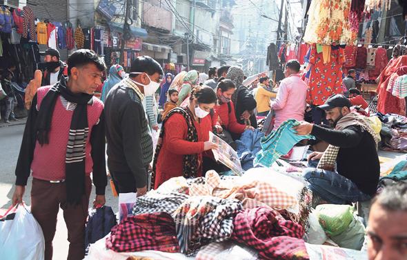 שוק בהודו