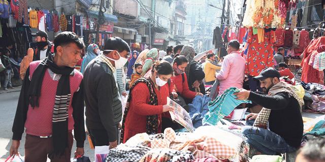 שוק בהודו, צילום: איי פי