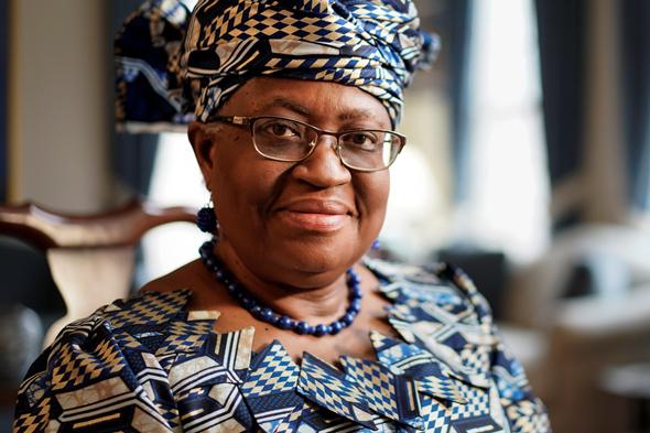 נגוזי אוקונג'ו איוולה, נשיאת ארגון הסחר העולמי WTO