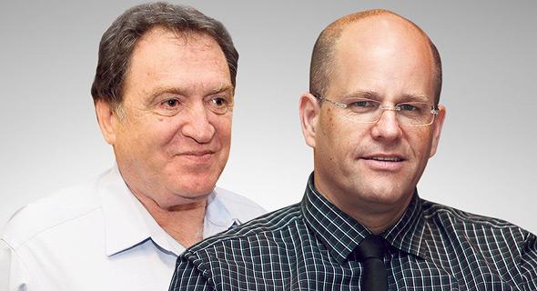 מימין נשיא קוקה קולה ישראל יורם שגיא והנשיא לשעבר רוני קוברובוסקי, צילומים: נמרוד גליקמן, אוראל כהן
