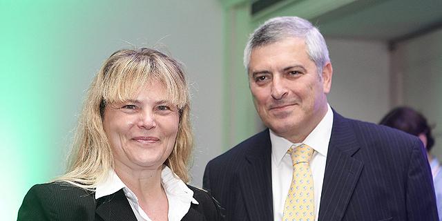 """המנכ""""ל לשעבר עופר קוטלר והיו""""רית רוית ברניב, צילום: אוראל כהן"""