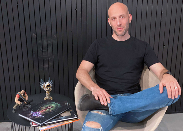 Overwolf CEO Uri Marchand. Photo: PR
