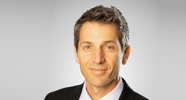 Discount Bank CEO Uri Levin. Photo: PR