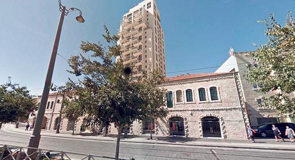 פרויקט בתי סיידוף בירושלים. אשטרום טוענת לנזקי עתק, צילום: גוגל מפס