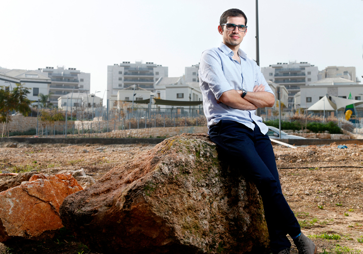 עומר שכטר, סגן ראש העיר ראש העין, צילום: עמית שעל