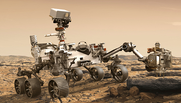 The Mars Perseverance Rover. Photo: AP