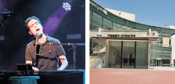 מימין: התיאטרון הקאמרי שייפתח באפריל ו אביב גפן שיופיע בזאפה מחר, צילומים: חיים הורנשטיין, אוראל כהן
