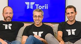 Torii co-founders Uri Haramati (left), Uri Nativ, and Tal Bereznitskey. Photo: Yarin Taranos