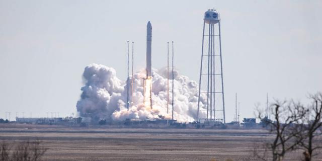 Northrop Grumman rocket blasts off to ISS carrying Israeli nanosatellite