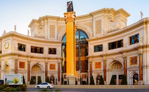 מלון סיזארס פאלאס לאס וגאס, שבו פועל מלון בוטיק מרשת נובו