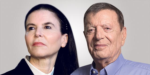 מימין מיכאל שטראוס ו עפרה שטראוס, צילומים: אוראל כהן, עמית שעל