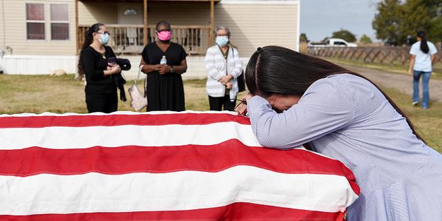 """צייון דרך עצוב: מעל חצי מיליון מתים מקורונה בארה""""ב"""