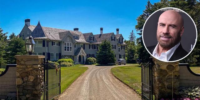 """""""בית מהאגדות"""": ג'ון טרבולטה מוכר אחוזה במיין במחיר מציאה"""