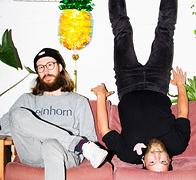 וולדמאר זיילר ושותפו פיליפ זיפר מייסדי חברת einhorn, צילום: Verena Brandt
