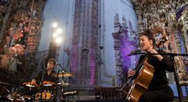 פנאי מאיה בלזיצמן ו מתן אפרת בפסטיבל, צילום: Carlos Juica