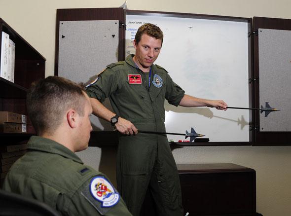 שיעור קרבות אוויר, צילום: USAF
