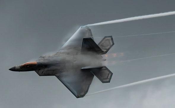 אדון השמיים, F22; וכמה הפלות?, צילום: USAF