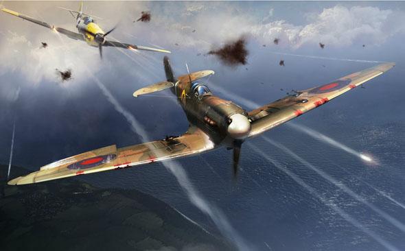 קרבות מלחמת העולם השנייה, צילום: WarThunder